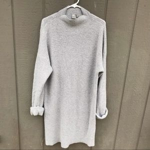 ASOS Women Gray mock neck sweater dress size 14
